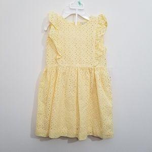 Ralph Lauren girl yellow dress